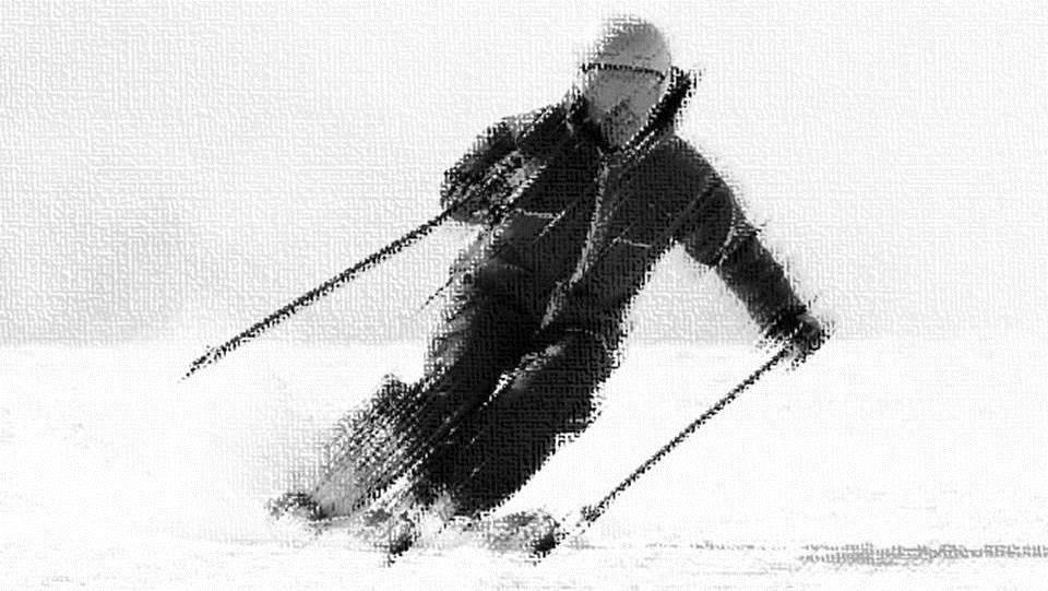 Fluir en el esquí IX