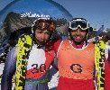 Los Españoles Jon Santacana y Anna Cohi imparables en la copa del mundo IPC en La Molina