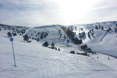 Pasando de un extremo a otro en La Molina y buena actividad a la vista