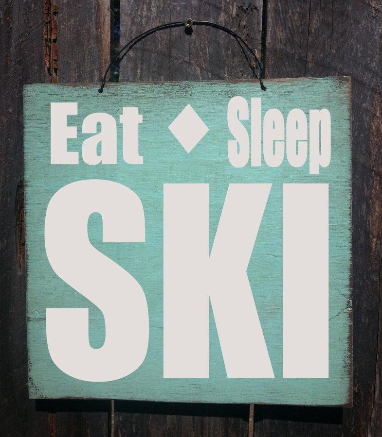 esqui decoracion