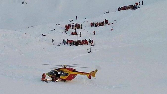 Tres Muertos en avalancha en centro de ski francés
