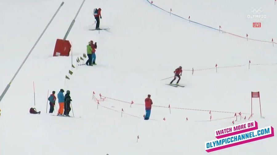 Sprint esqui montaña lausana 2020