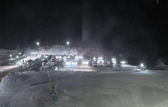 Valdesquí abre la estación de esquí ya con el aforo completo