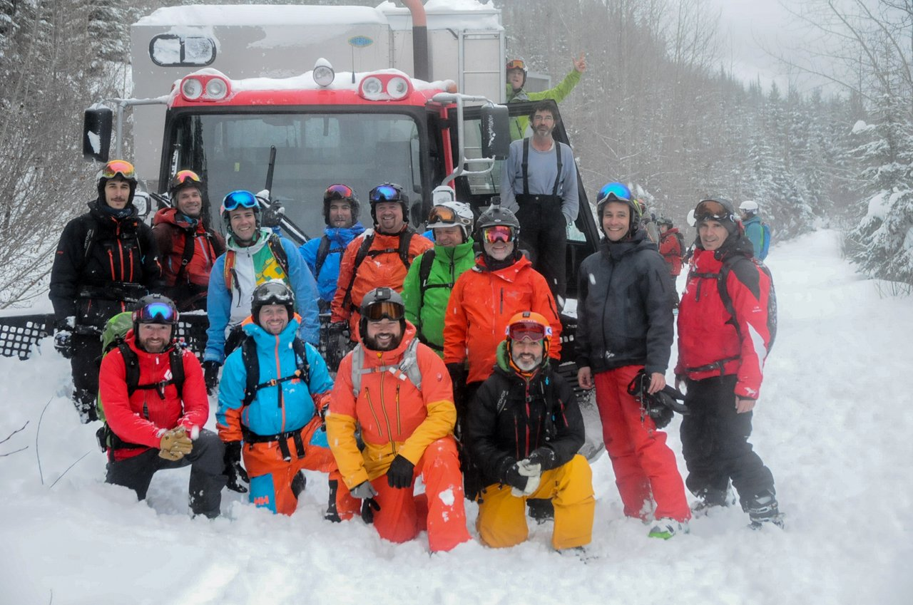 Grupo de Cat Skiing