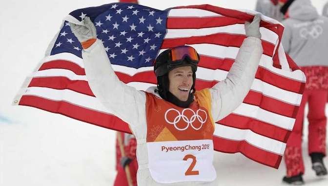 Shaun White Gana Medalla de Oro en Half Pipe Pyeongchang 2018
