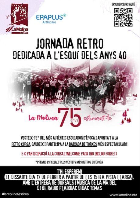 Jornada Retro en La Molina
