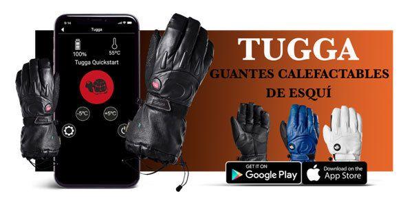Guantes calefactados Tugga