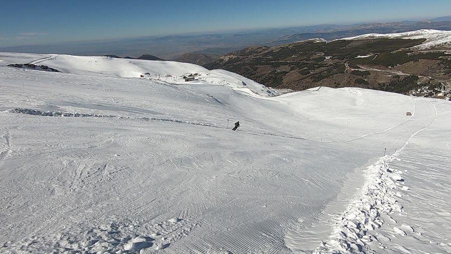 Pista Diploma. Sierra Nevada. Febrero 2019