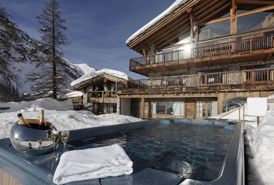 Hotel de lujo pistas esqui