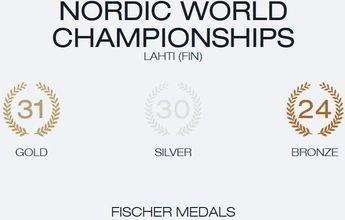 Fischer se queda casi todas las medallas de Lahti 2017