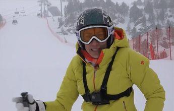 Carolina Ruiz nos explica como esquiar la pista Avet de Soldeu