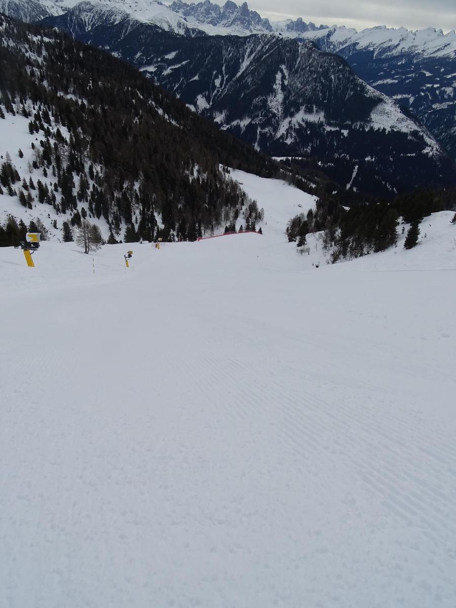 Val di Fiemme-Dolomitas . Crónica de un inesperado fin de temporada