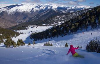Alud de esquiadores en el Pirineo tras el levantamiento del cierre comarcal