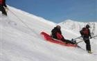 L'esquí amb bata blanca