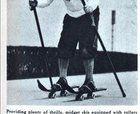 Roller Skiing 1950