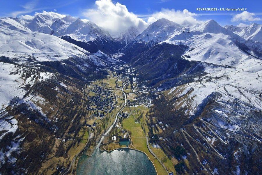 Imagen aerea de la Val de Louron