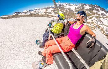 Los glaciares de Francia anuncian fecha para su temporada de esquí de verano