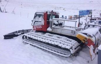 Las estaciones del sur de Africa registran grandes nevadas