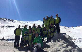 Sierra Nevada vuelve a abrir para los corredores de esquí de la RFEDI