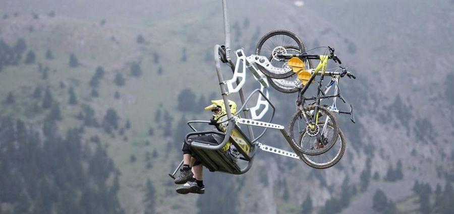 Telesila bike bicicleta en La Molina