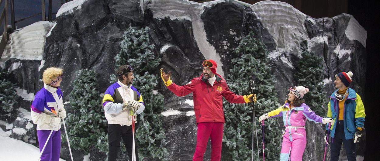 """""""En la Pista"""": la estación de esquí que Antonio Banderas ha montado en Málaga"""