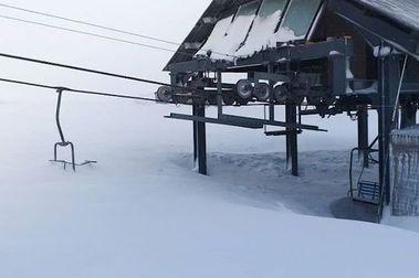 Impresionante: Corralco acumula casi 6 mts. de nieve