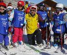 La Mini Escuela de ski de La Parva: Enseñando a los futuros esquiadores