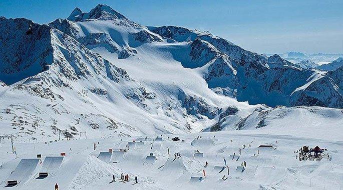 Foto de Stubaier Gletscher