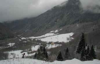Hoy podrían llegar las primeras nevadas a la Vall d'Arán