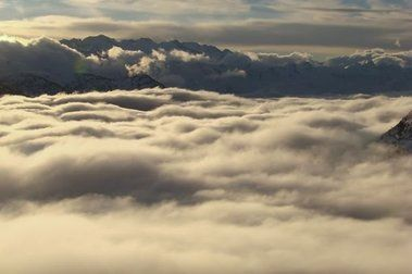 Nubes orográficas
