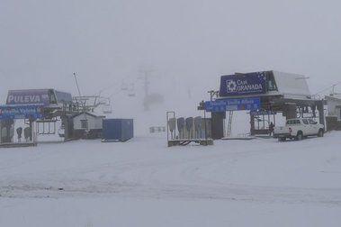 Primeras nieves serranas