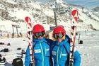 Ona Rocamora y Mariona Boix ultiman su preparación en Stubai