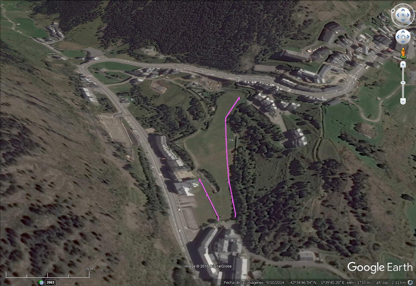 Vistas Google Earth Canaro  2016-17