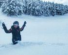 La nevada deja las estaciones de FGC a punto para Navidad
