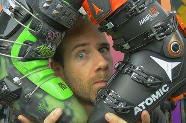 La guerra del touring: botas, fijaciones y estándares.