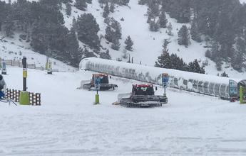 Grandvalira ya ha llegado a los 100 kilómetros esquiables