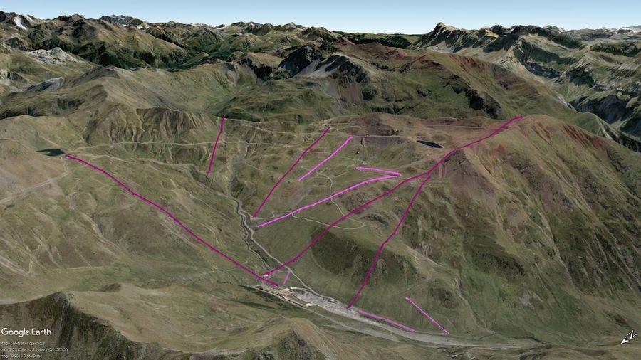 Vistas Google Earth Astún 2018-19