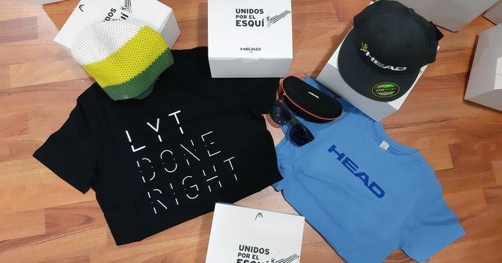 HEAD sale en ayuda de las tiendas de esquí físicas con regalos a los compradores