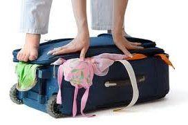 Consejos para hacer una maleta.
