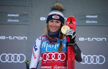 Mikaela Shiffrin gana por fin en Kronplatz antes de irse a descansar unos días