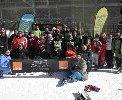 Orange apoya a la Fundación También en su programa de esquí alpino adaptado