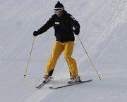 ¿Se mete la rodilla al esquiar?