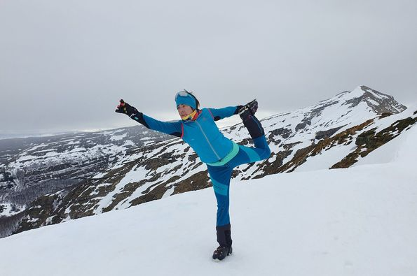 De travesía al Pico de La Miel [13-02-21]