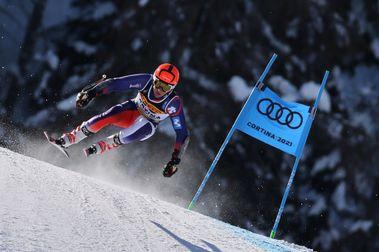 Albert Ortega firma un muy buen resultado en la Combinada de Cortina d'Ampezzo