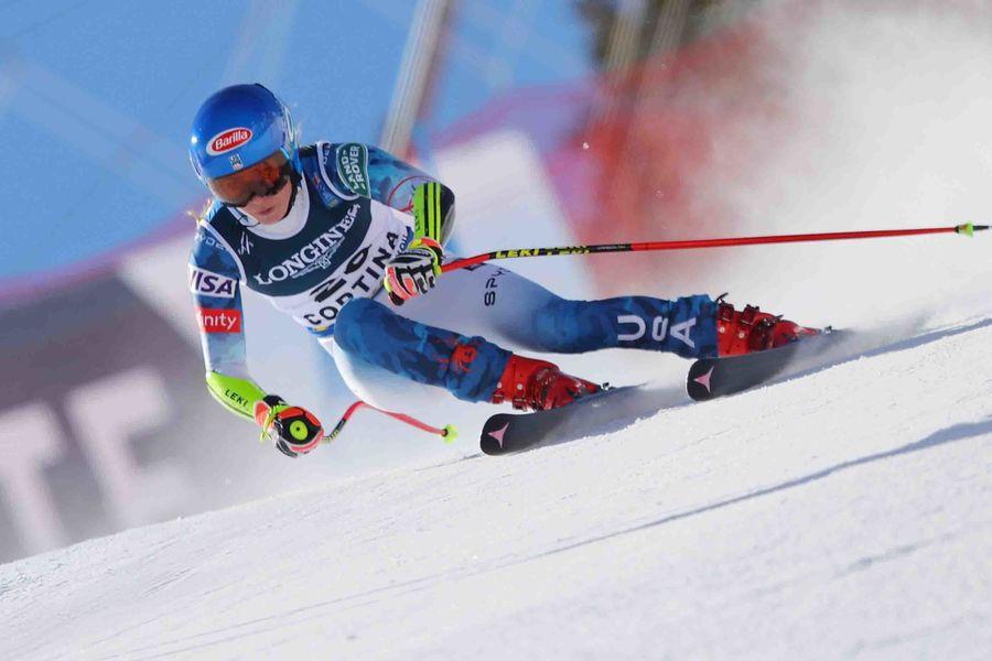 Mikaela Shiffrin en Cortina d'Ampezzo 2021