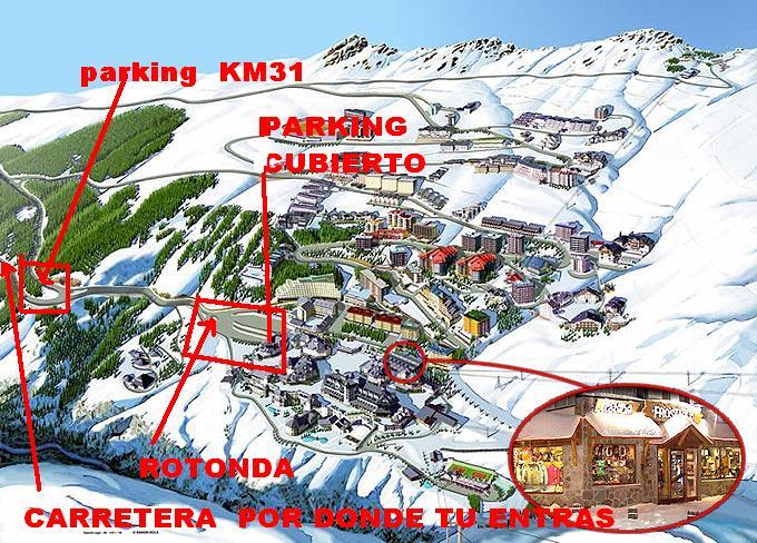 Parking pradollano - Apartamentos baratos en sierra nevada ...