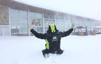 Medio metro de nieve nueva en Teruel deja sus pistas al 100%