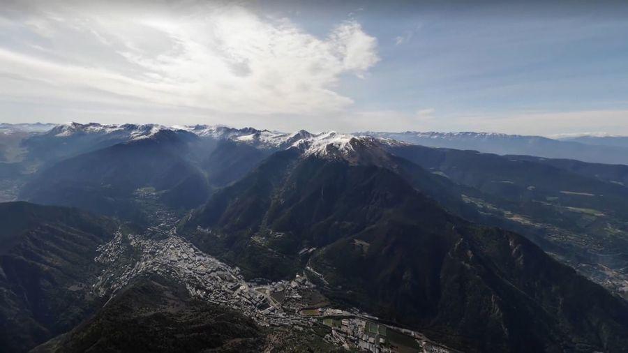 Pic del Carroi desde Andorra la Vella