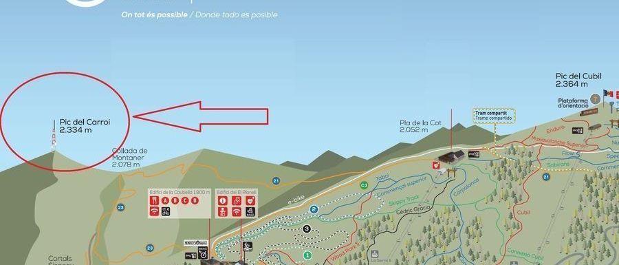El forfait de Vallnord dará acceso al nuevo teleférico del Pic del Carroi