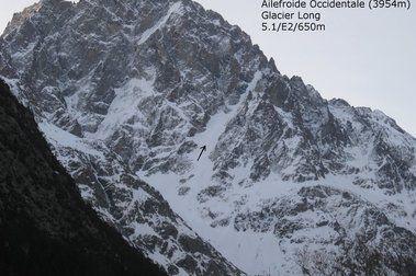 Ailefroide Occidentale - Glacier Long